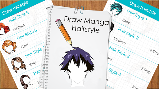 Learn to draw hairstyles - Learn to draw Hair screenshots 4