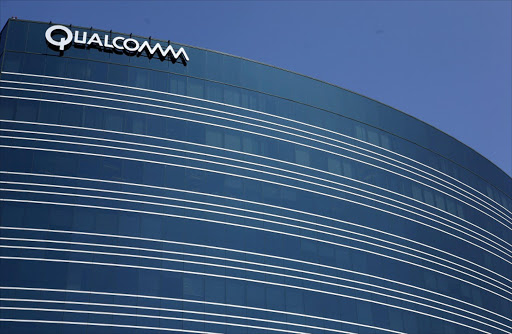 A view of one of Qualcomm's many buildings in San Diego, California. Picture: REUTERS