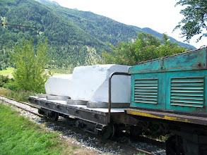 Photo: Marmer mijn bij Laas in Zuid Tirol