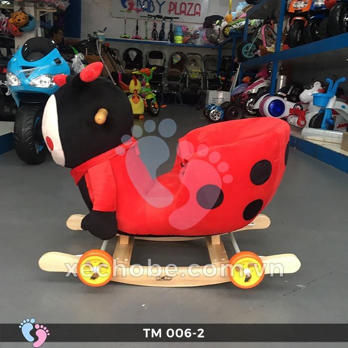 Thú bập bênh cho bé TM006-2 có bánh xe 6