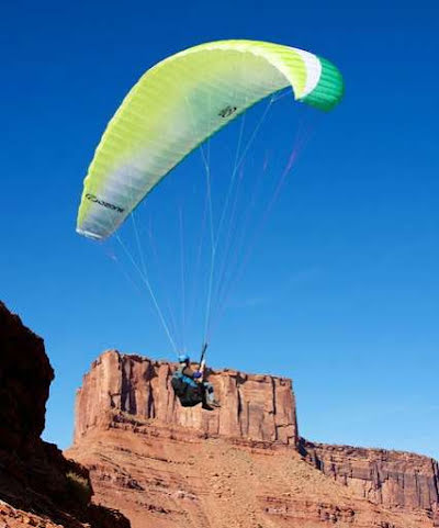 Great first paraglider wing package - Ozone Mojo 5