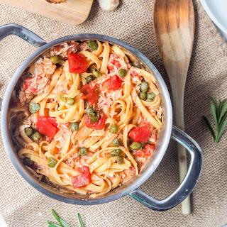 Creamy Tomato Chicken Pasta.