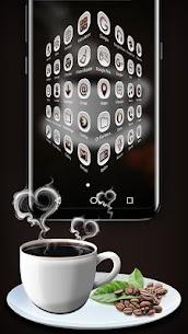 Black Tea Launcher Theme 3