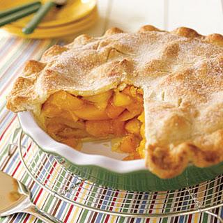 Deep-Dish Peach Pie