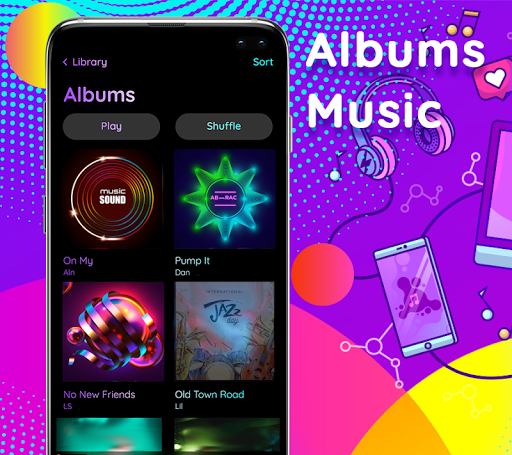Music Player 2020 screenshot 1