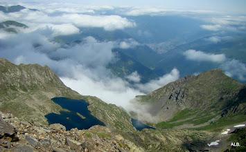 Photo: Lagc de la Montagnette desde la cima del Salvaguardia.