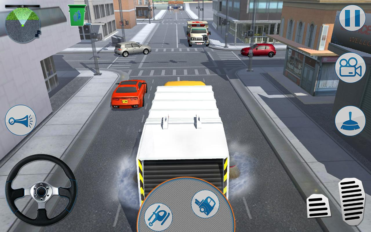Road Garbage Dump Truck Driver- screenshot