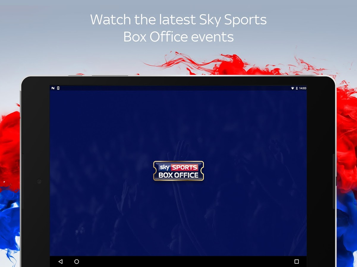 Sky Sports Box Office – Android Apps on Google Play