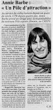 Photo: 26-06-97 Annie Barbe à la tête du Pôle espoir filles de Nancy