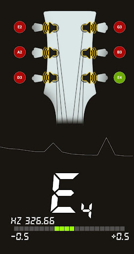 Guitar Tuner Free - In Tune 0.1.6 screenshots 2