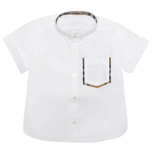 Primary image of Burberry White Cotton Shirt
