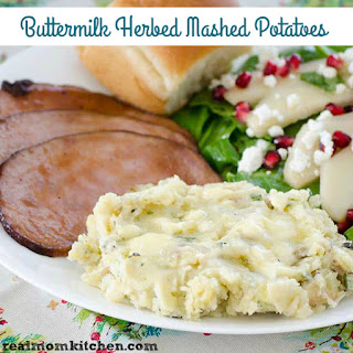 Buttermilk Herbed Mashed Potatoes.