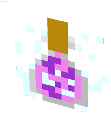 this potion makes you fly,jump super high,and give you fall damage!