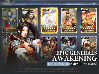 Three Kingdoms: Raja Chaos for PC-Windows 7,8,10 and Mac apk screenshot 9