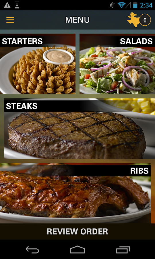 Texas Roadhouse Mobile- screenshot