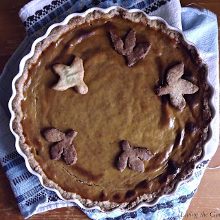 Classic Pumpkin Spiced Pie