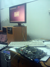 Photo: IBM 8361-110 thin client terminal session via XDCMP