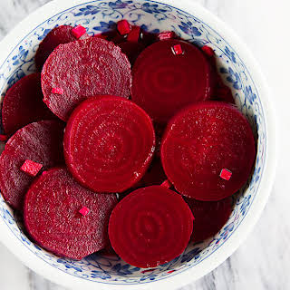 Roasted Pickled Beets.
