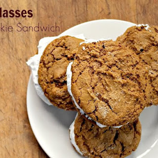 Molasses Cookie Sandwiches