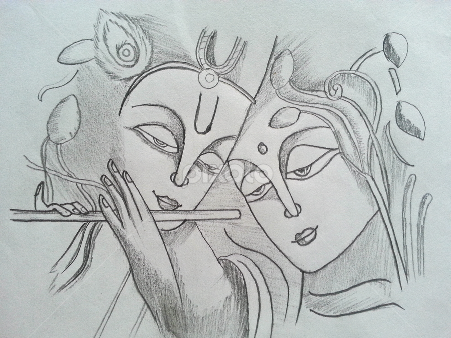 Radha Krisha All Drawing Drawing Pixoto