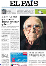 Photo: El Rey alerta sobre la ola independentista en Cataluña; muere Santiago Carrillo, un artífice de la reconciliación; y el núcleo de la UE diseña un supergobierno para una Europa más federal, en la portada de la edición nacional de EL PAÍS del miércoles 19 de septiembre de 2012 http://srv00.epimg.net/pdf/elpais/1aPagina/2012/09/ep-20120919.pdf