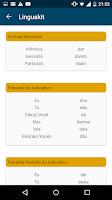 Screenshot of Portuguese Conjugator