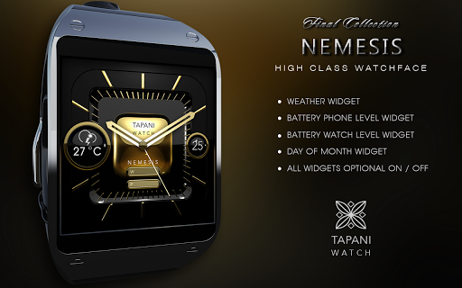 Nemesis weather watch face  screenshots 8