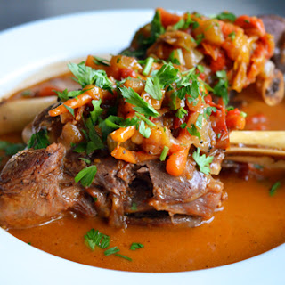 Pressure Cooker Lamb Shanks