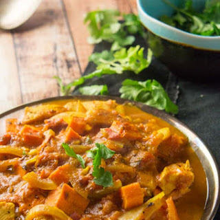 Easy Sweet Potato & Chicken Curry Recipe