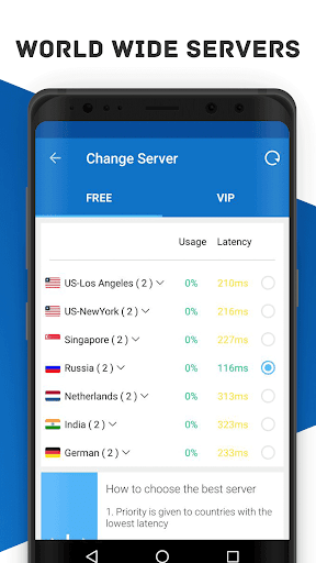 Secure VPN - Free VPN Proxy, Best & Fast Shield 1.5.9 screenshots 2