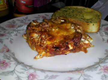 Yummy Homemade Lasagna