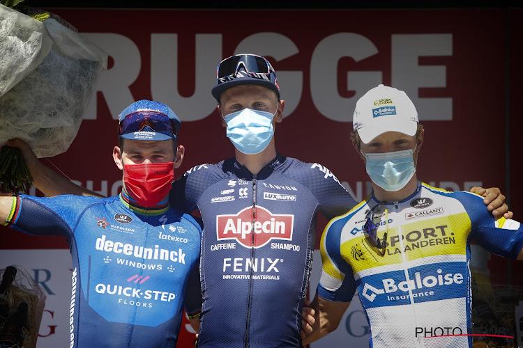 """Podiumman Weemaes toonde respect voor Cavendish én ambitie: """"Een derde plaats is voor mij niet voldoende"""""""