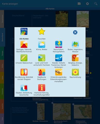 android Diercke Weltatlas digital Screenshot 1