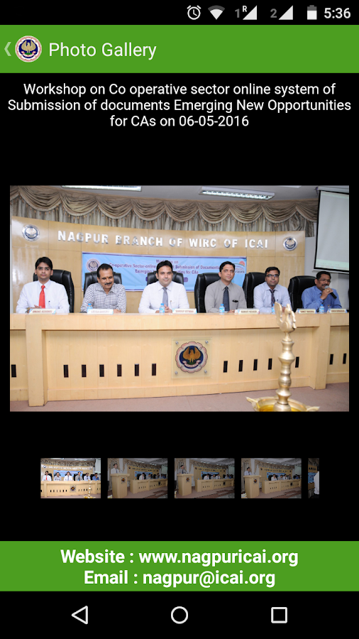 ICAI Nagpur- screenshot