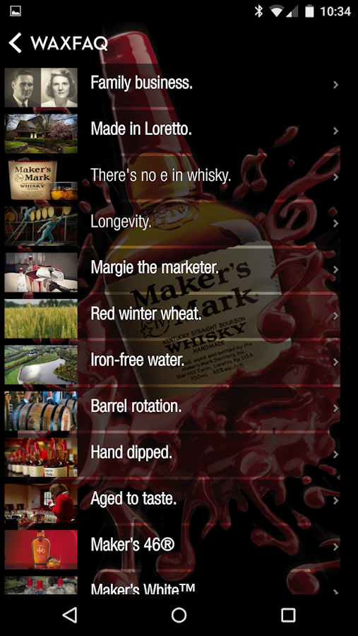Maker's Mark® Ambassador- screenshot