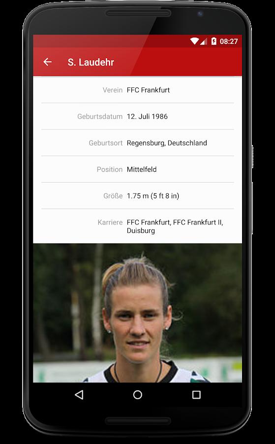 Die Mannschaft - WM Frauen '15- screenshot