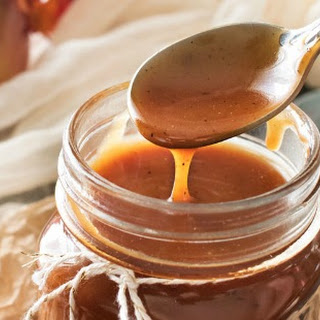 Browned Butter Salted Caramel Sauce