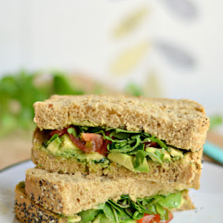 Avocado Pesto Sandwich