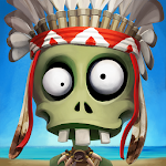 Zombie Castaways 2.14 (Mod Money)