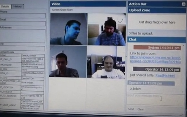 Video Conferencing Screen Sharing