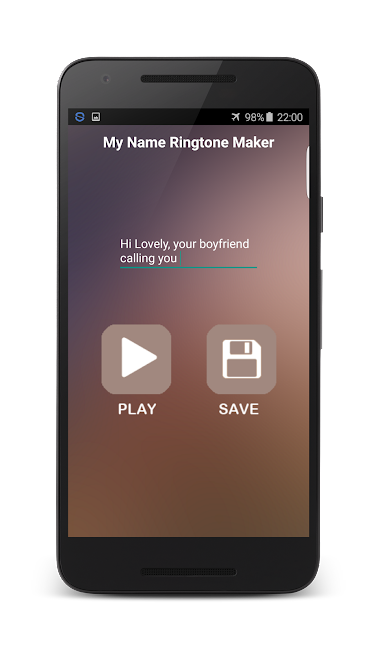 #4. My Name Ringtone Maker (Android)