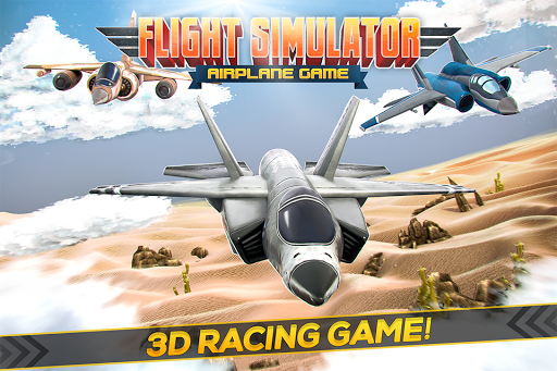 Flight Simulator Airplane Game
