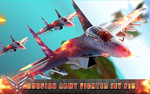 玩模擬App|F18戰鬥機俄羅斯軍隊免費|APP試玩