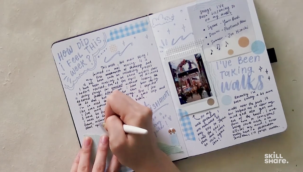 Journaling is a flexible and creative activity.