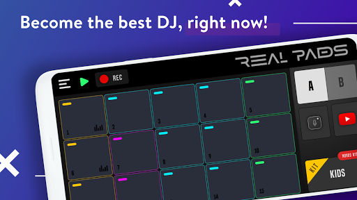 REAL PADS: Become a DJ of Drum Pads screenshot 1