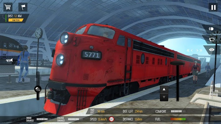 Train Simulator PRO 2018- screenshot