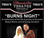 BURNS NIGHT - Mim Erasmus & Danny Fisher : Rhumbelow Theatre - Tina's