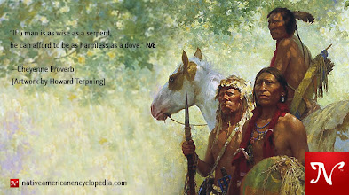 Photo: If a man is as wise as a serpent, he can afford to be as harmless as a dove. —Cheyenne Proverb [Artwork by Howard Terpning]
