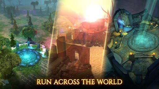 Fire Heroes: Bring the war to the summoners world fond d'écran 1