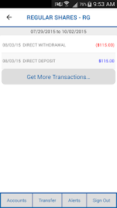 CCFCU Mobile Banking screenshot 2